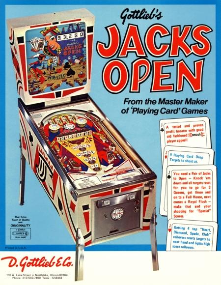 Jacks open